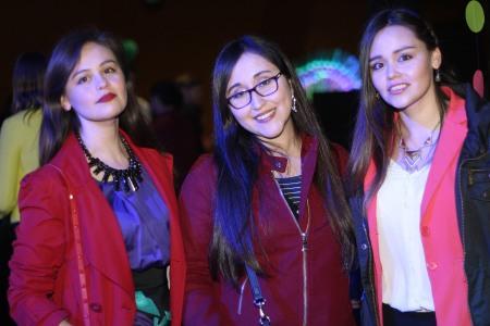 Damari Vergara, Daniela Torrealba, Lesly Vergara.