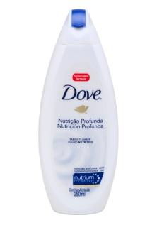 DOVE SHOWER NUTRICION PROFUNDA 12X250ML